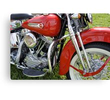Shiny Red Classic Canvas Print