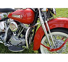Shiny Red Classic Photographic Print
