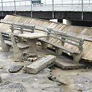 Hurricane Irene Destruction on the boardwalk by Jacker