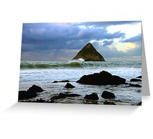Backbeach Greeting Card