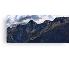 In the Land of Mordor Canvas Print