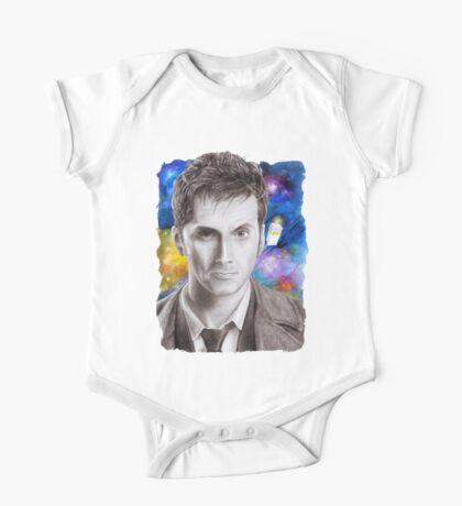 Doctor Who No.10 - David Tennant 1 One Piece - Short Sleeve