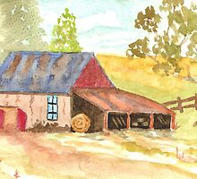 Forgotten Barn Postcard  by Warren  Thompson