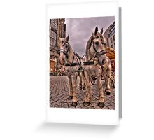 Old Town Dresden Germany Greeting Card