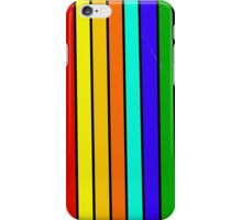 Quirky stripes (horizontal) iPhone Case/Skin