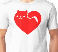 Cat Heart Unisex T-Shirt