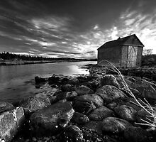 Boat House by Sue  Cullumber