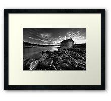 Boat House Framed Print