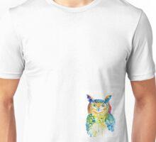 Watercolour Owl Unisex T-Shirt