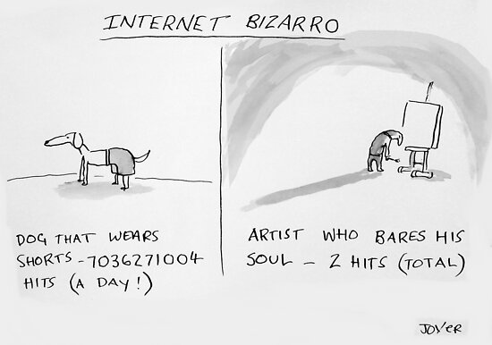 internet bizarro by Loui  Jover