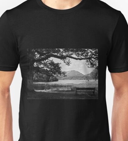"""Lakeside Bliss"", Cumbria, UK Unisex T-Shirt"