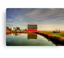 Lone Farm Canvas Print