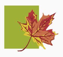 Fall Leaf Kids Tee