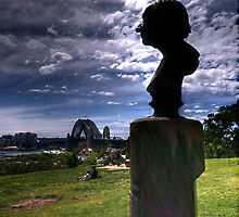 I'm Hans Christian Andersen, and why am I in Sydney ? - Observatory Hill, Sydney Australia - The HDR Experience by Philip Johnson