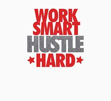 Work Smart Hustle Hard- Speckled T-Shirt