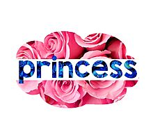 Flower princess of the roses Photographic Print