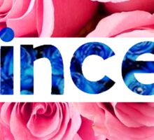 Flower princess of the roses Sticker