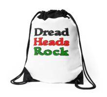 Dread Heads Rock Drawstring Bag