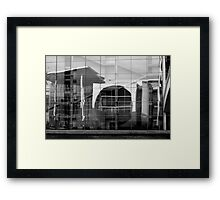 Stairs of glass Framed Print