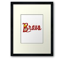 Bravo's Quest Framed Print