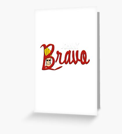 Bravo's Quest Greeting Card