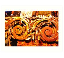 Artisan Brasswork, Carennac France Art Print