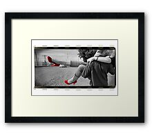 Red Shoes -on film Framed Print