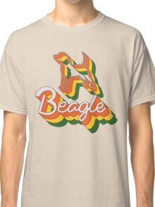 Retro Beagle Classic T-Shirt