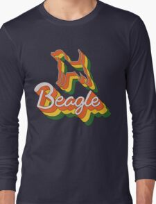 Retro Beagle Long Sleeve T-Shirt