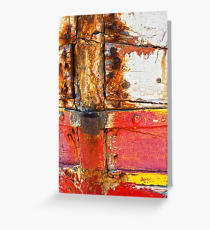 Crusty with red Greeting Card