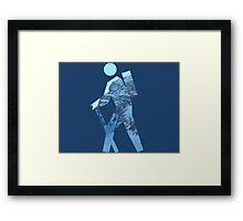Alpine Hiker Framed Print