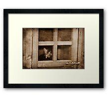 Quiet Contemplation ~ Framed Print