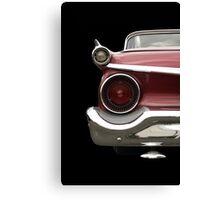 Classic Car (red) Canvas Print