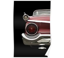 Classic Car (red) Poster