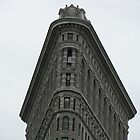 The Flat Iron Building - New York by Cath Baker