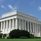 The Lincoln Memorial - Washington DC by Cath Baker