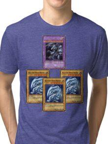 Bue-Eyes Ultimate Dragon Tri-blend T-Shirt