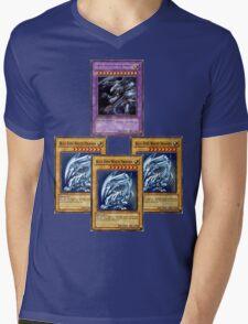 Bue-Eyes Ultimate Dragon Mens V-Neck T-Shirt