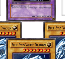 Bue-Eyes Ultimate Dragon Sticker