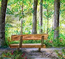 Lonely Bench 2 - Take Two by Corrina Holyoake