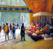 Under the clocks (Flinders street station - Melbourne) by Ivana Pinaffo