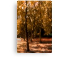 Autumn Colour Canvas Print