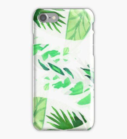 Tropical leaf iPhone Case/Skin