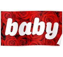 Rose baby Poster