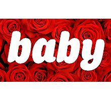 Rose baby Photographic Print