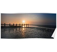 Normans Bay sunrise oct 2011 Poster