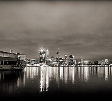 PS Decoy ~ Swan River, Perth WA by Pene Stevens