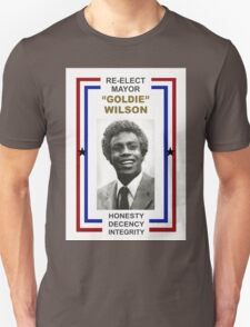 Re-Elect Mayor Goldie Wilson T-Shirt