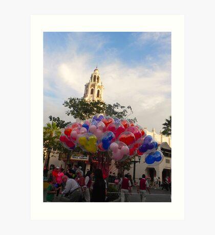 Carthay Circle Balloons Art Print