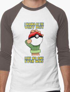 Pokemon - Be The Very Best Men's Baseball ¾ T-Shirt